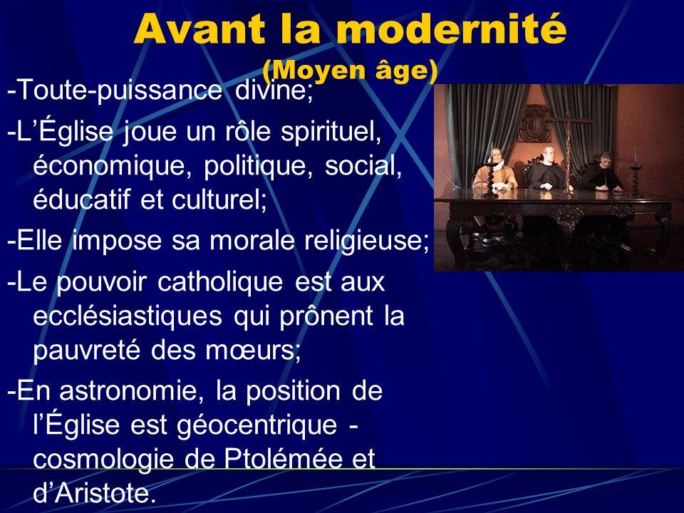 Avant la modernité (Moyen âge)
