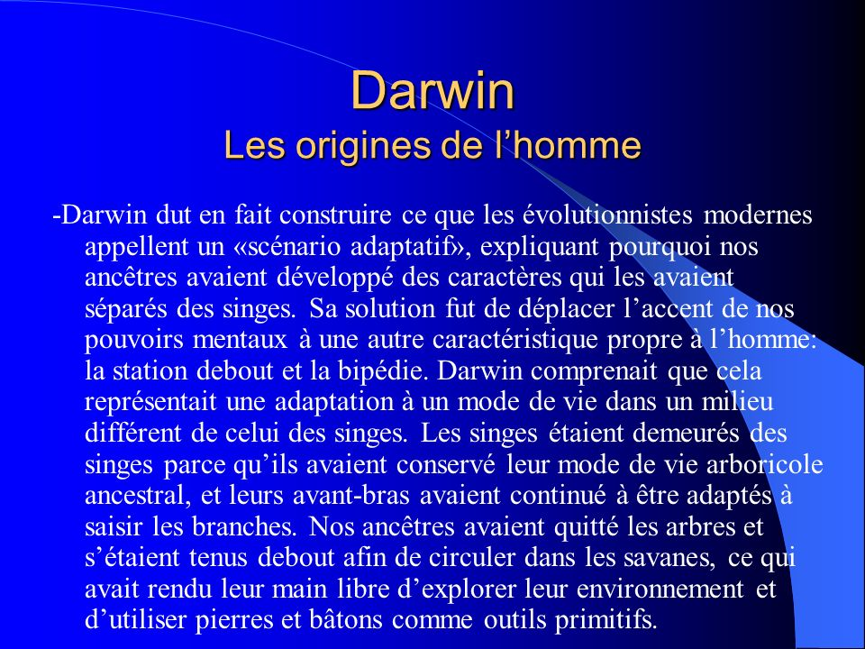 darwinisme et n o darwinisme ppt t l charger. Black Bedroom Furniture Sets. Home Design Ideas