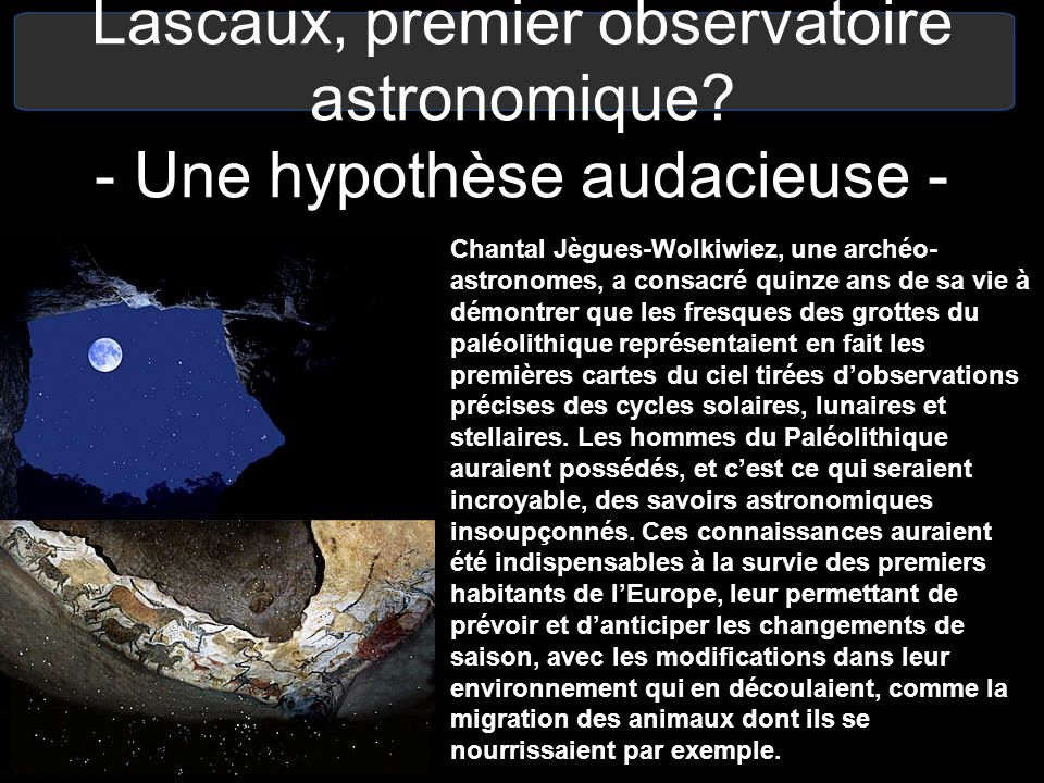 Lascaux, premier observatoire astronomique