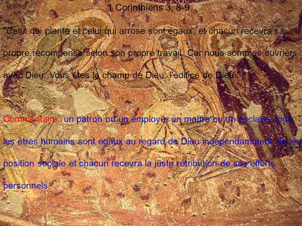 1 Corinthiens 3, 8-9
