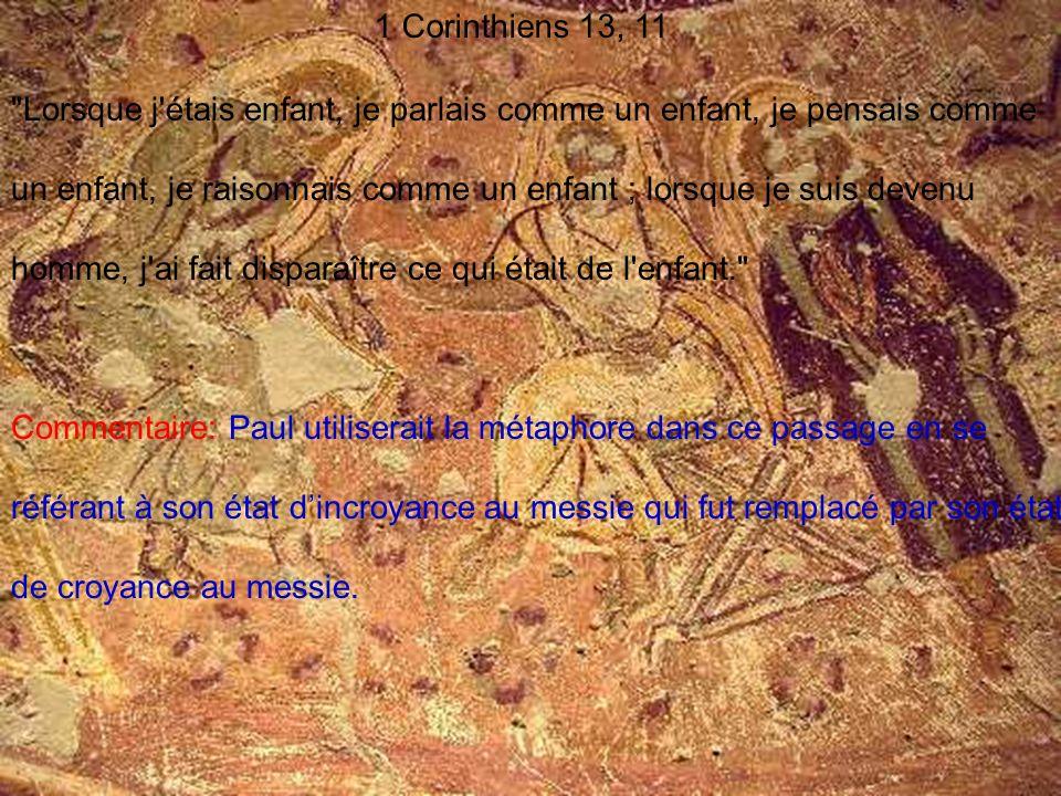 1 Corinthiens 13, 11