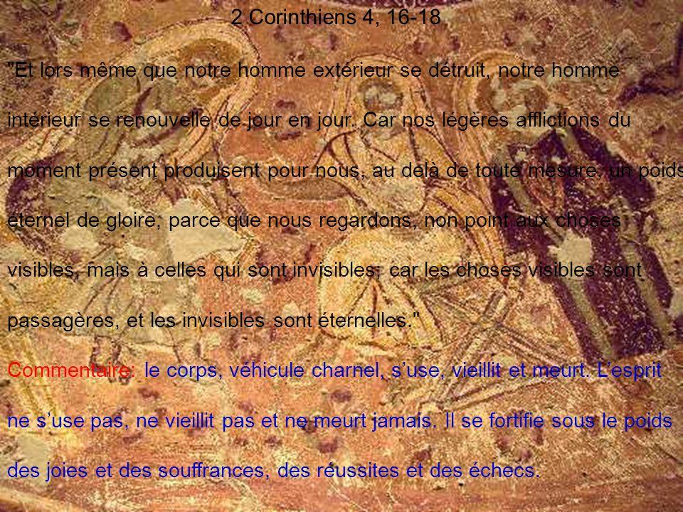 2 Corinthiens 4, 16-18