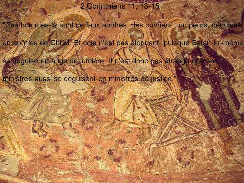 2 Corinthiens 11, 13-15