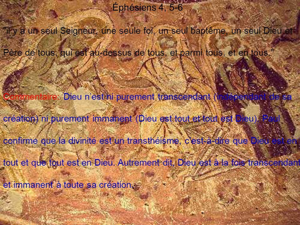 Éphésiens 4, 5-6