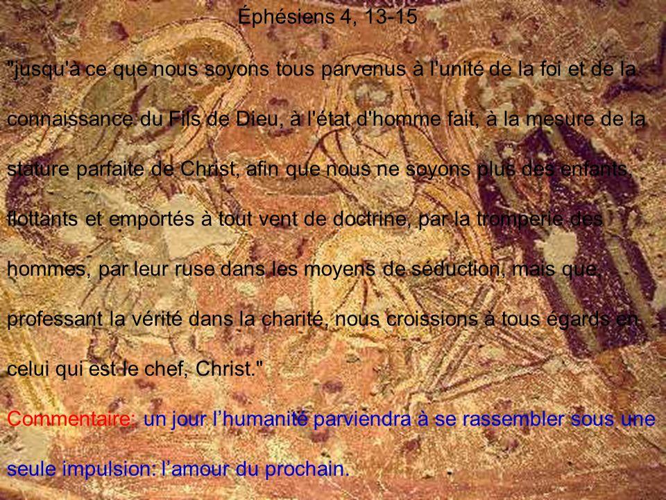 Éphésiens 4, 13-15