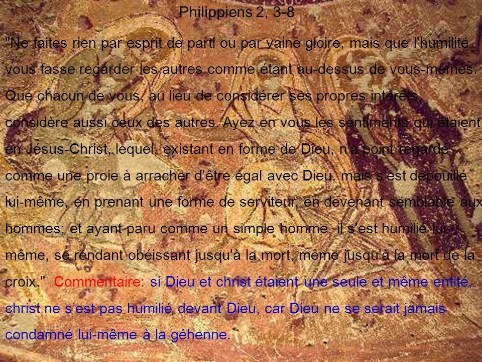 Philippiens 2, 3-8