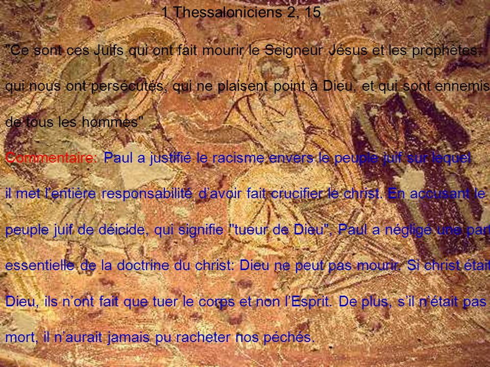 1 Thessaloniciens 2, 15