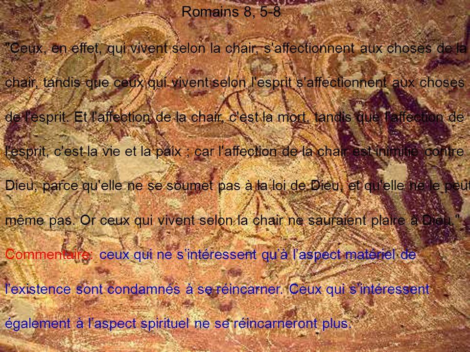 Romains 8, 5-8