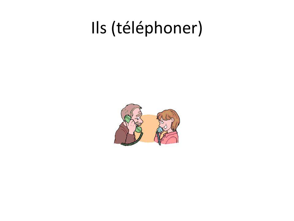 Ils (téléphoner)