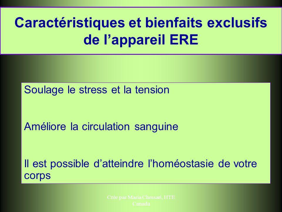 Caractéristiques et bienfaits exclusifs de l'appareil ERE