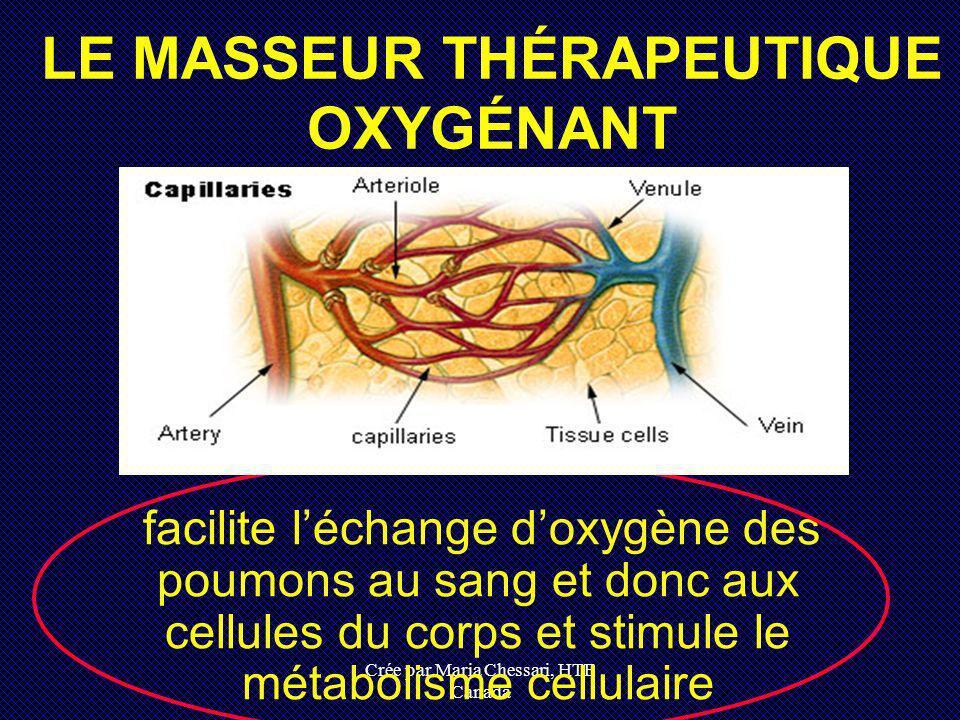 LE MASSEUR THÉRAPEUTIQUE OXYGÉNANT