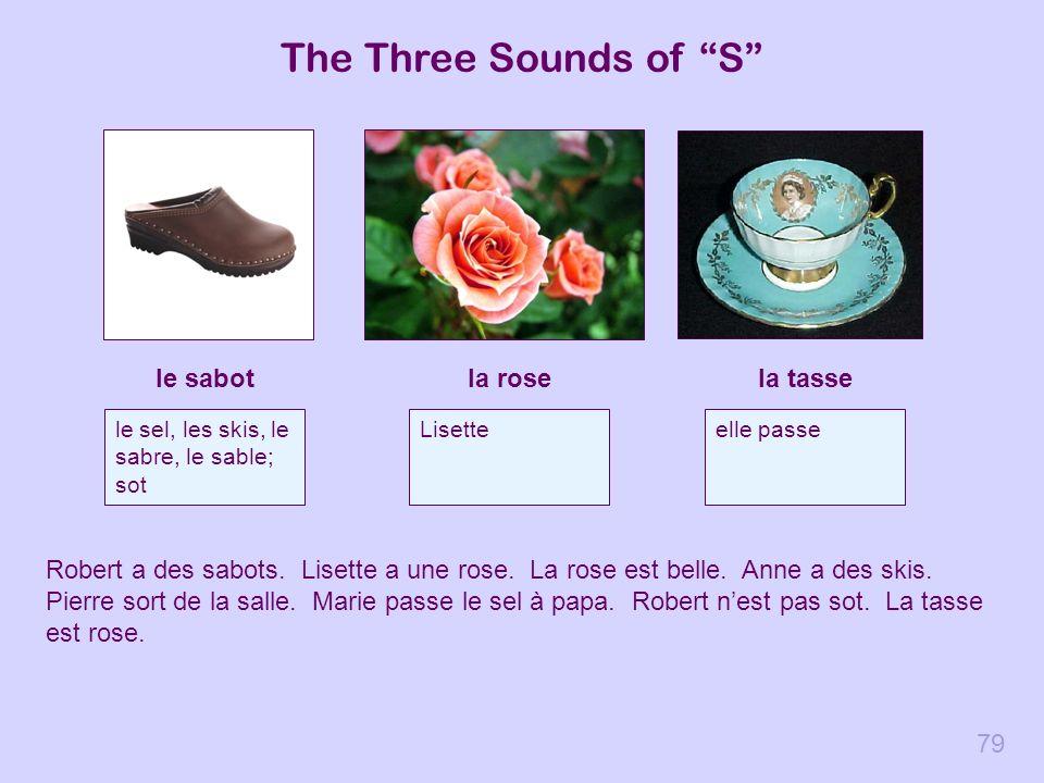The Three Sounds of S le sabot la rose la tasse