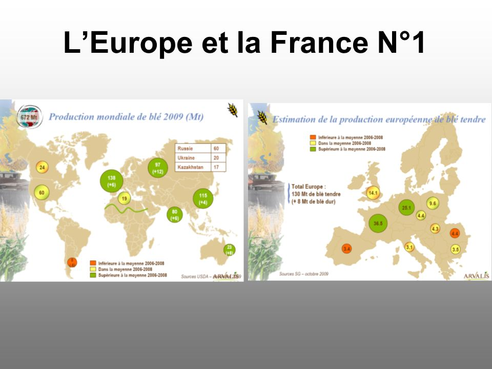 L'Europe et la France N°1