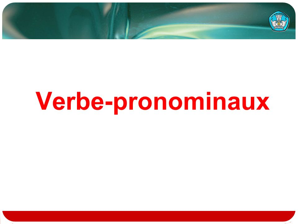 Verbe-pronominaux