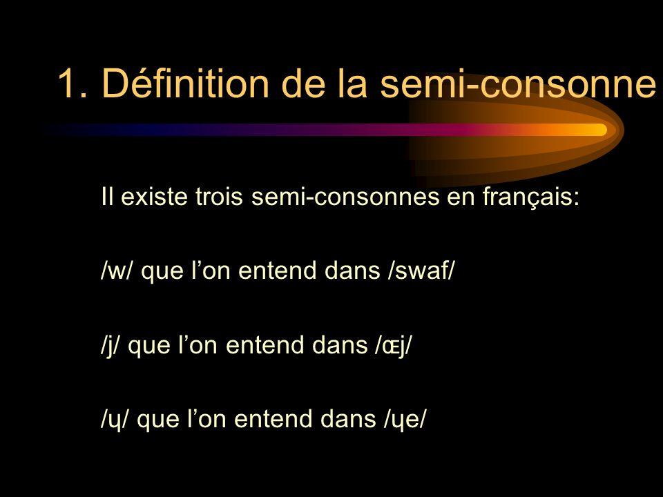 1. Définition de la semi-consonne
