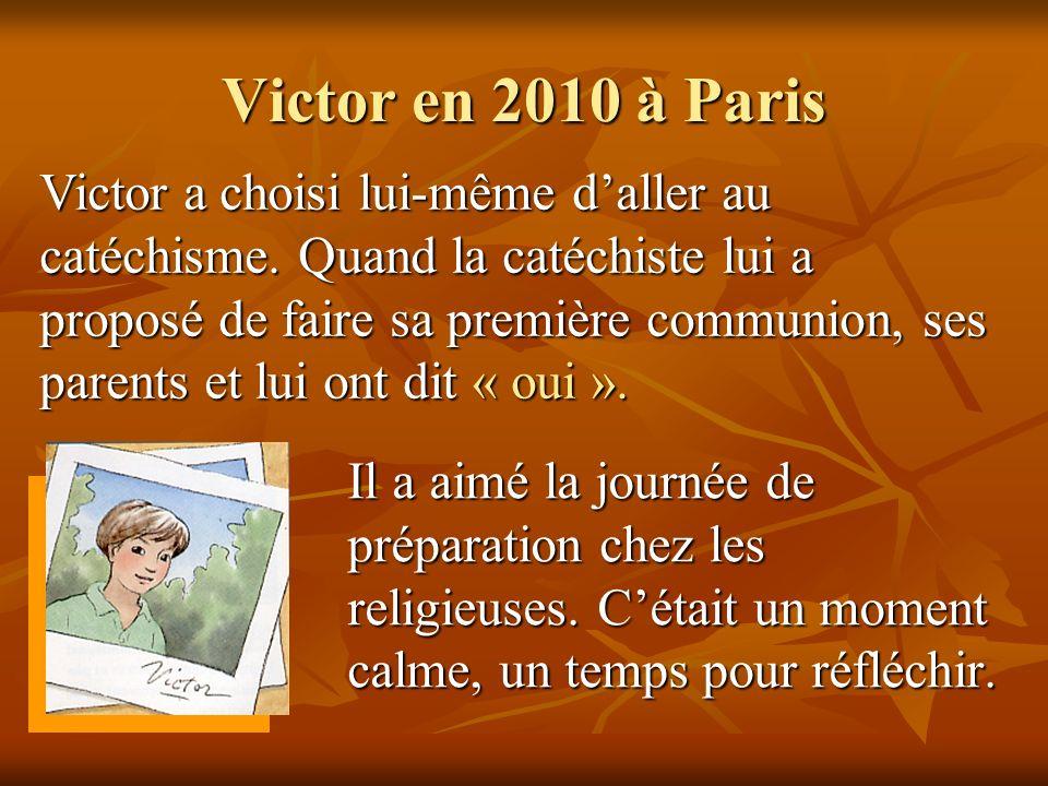 Victor en 2010 à Paris
