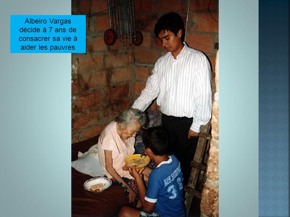 Albeiro Vargas décide à 7 ans de consacrer sa vie à aider les pauvres