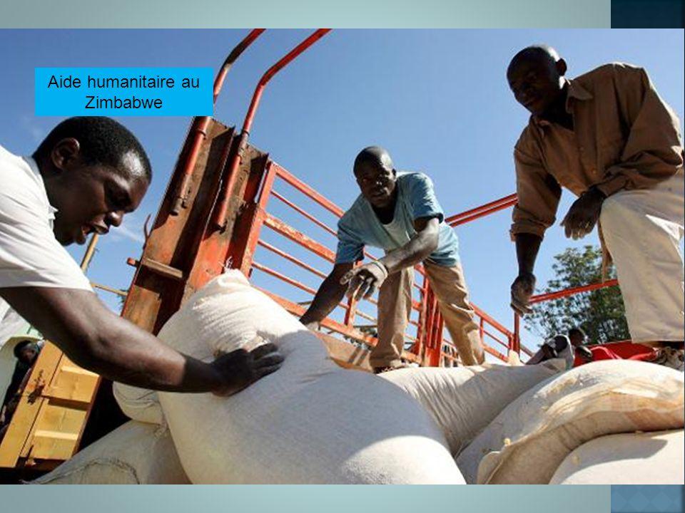 Aide humanitaire au Zimbabwe