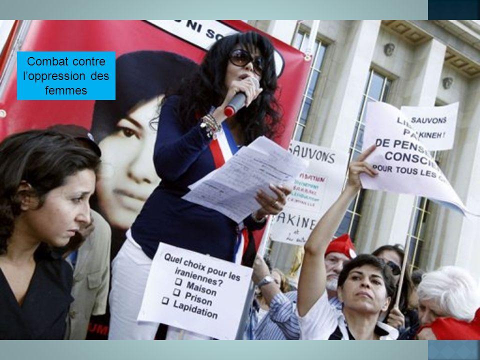 Combat contre l'oppression des femmes