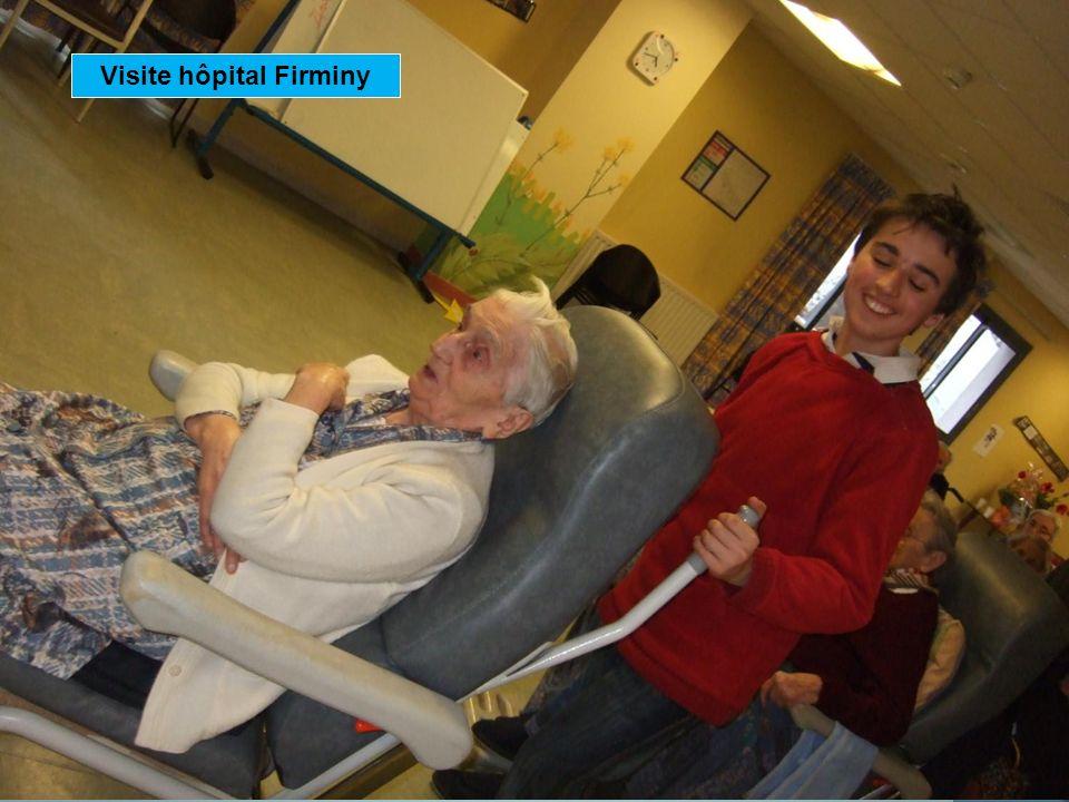 Visite hôpital Firminy