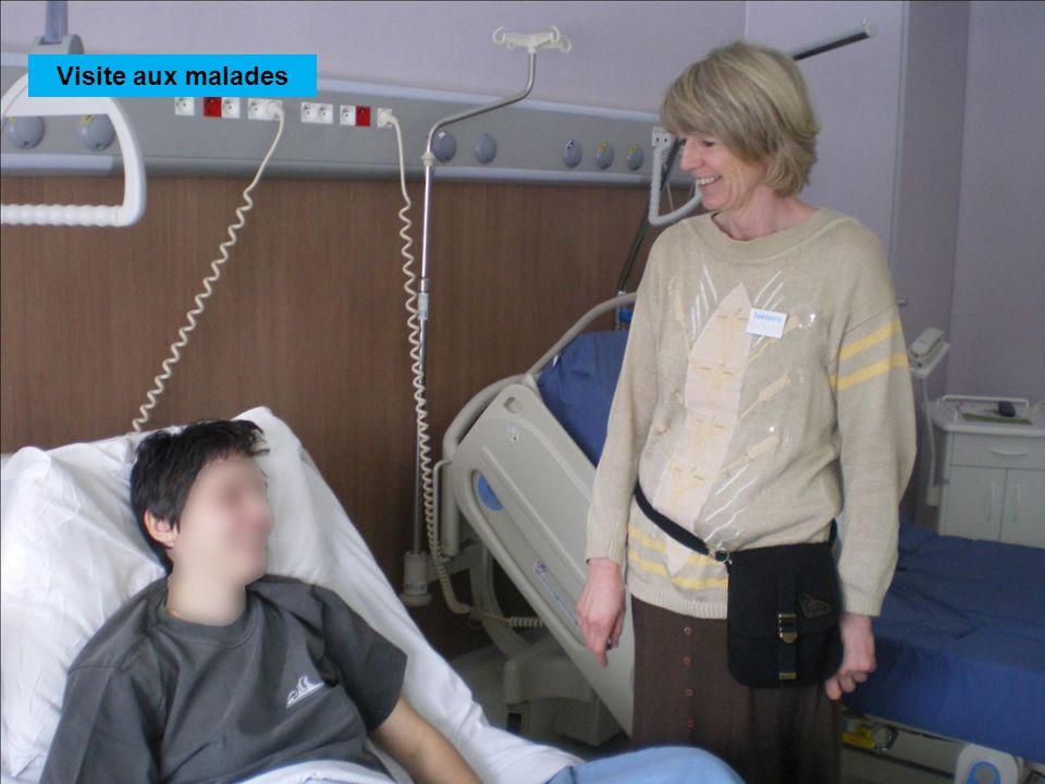 Visite aux malades