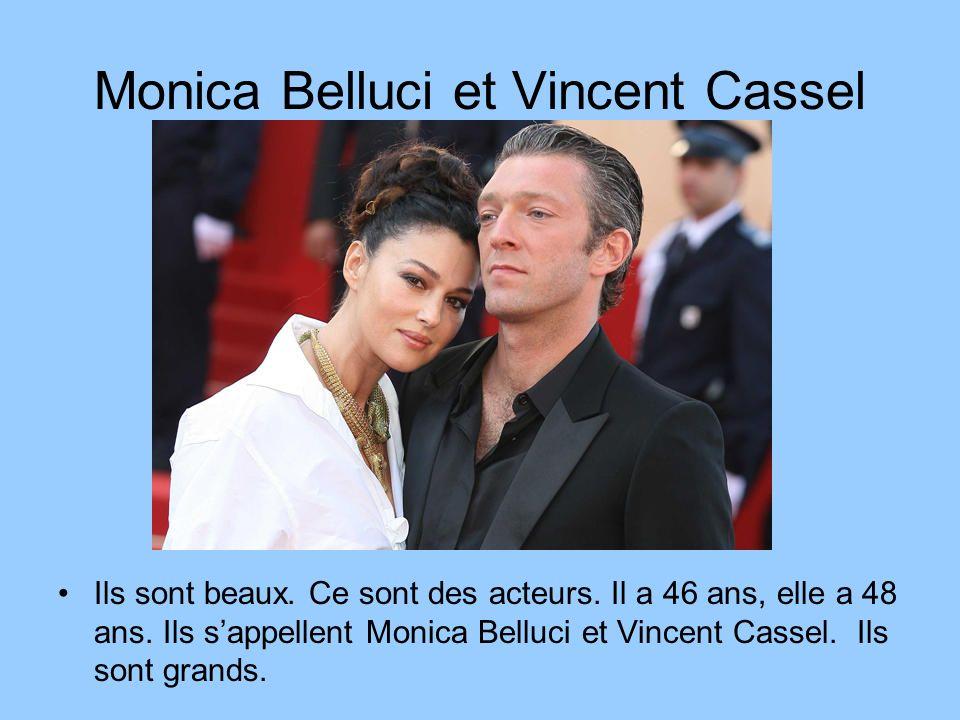 Monica Belluci et Vincent Cassel