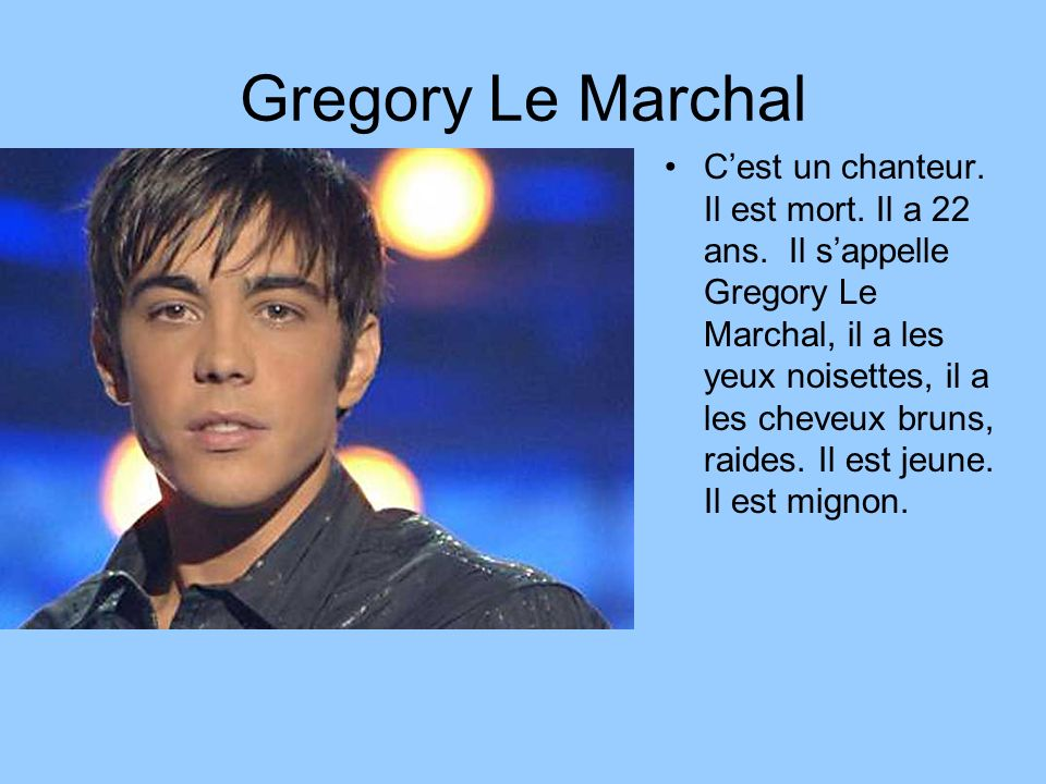 Gregory Le Marchal