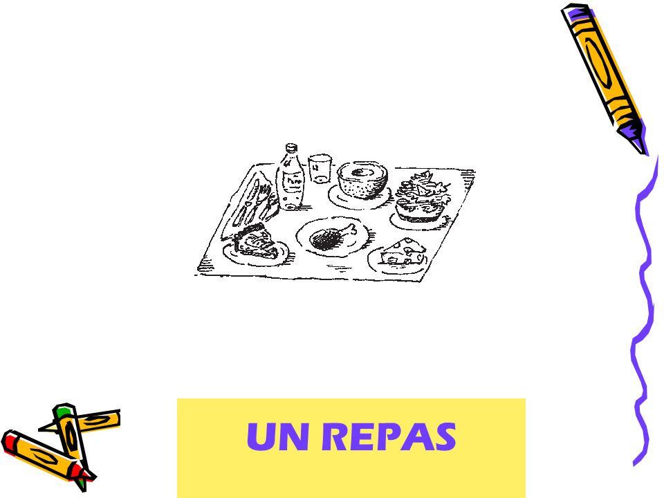 UN REPAS A meal