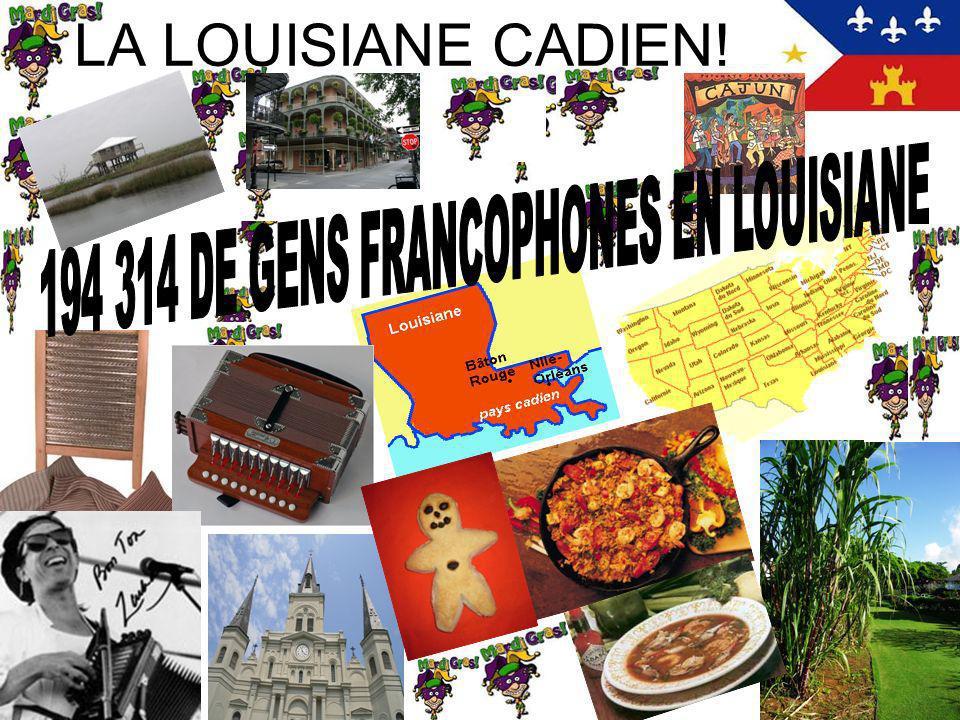 194 314 DE GENS FRANCOPHONES EN LOUISIANE