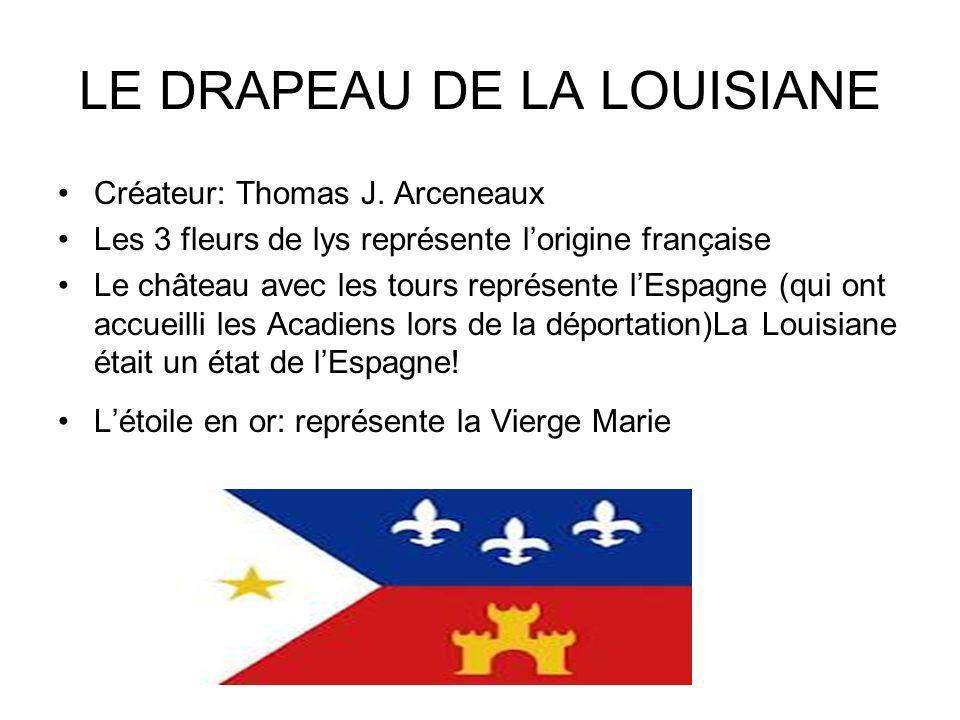 LE DRAPEAU DE LA LOUISIANE