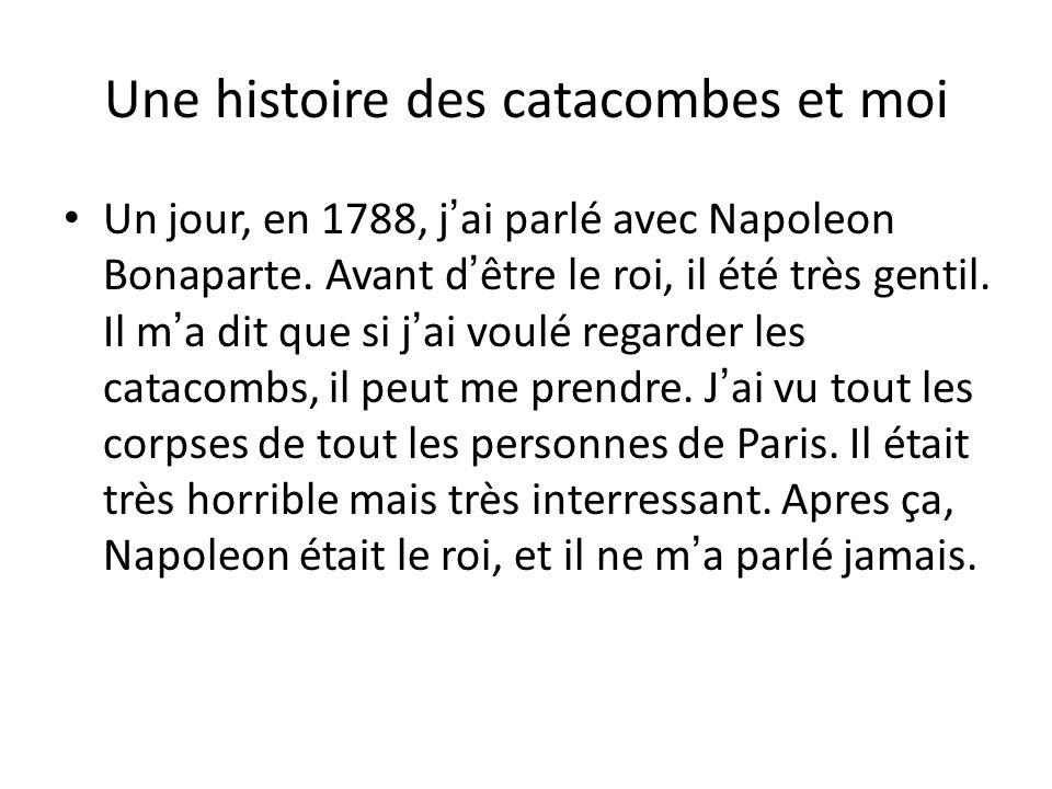 Une histoire des catacombes et moi