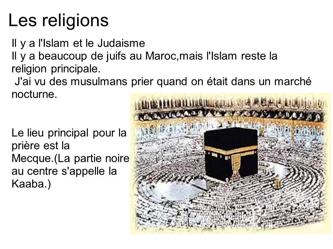 Les religions Il y a l Islam et le Judaisme