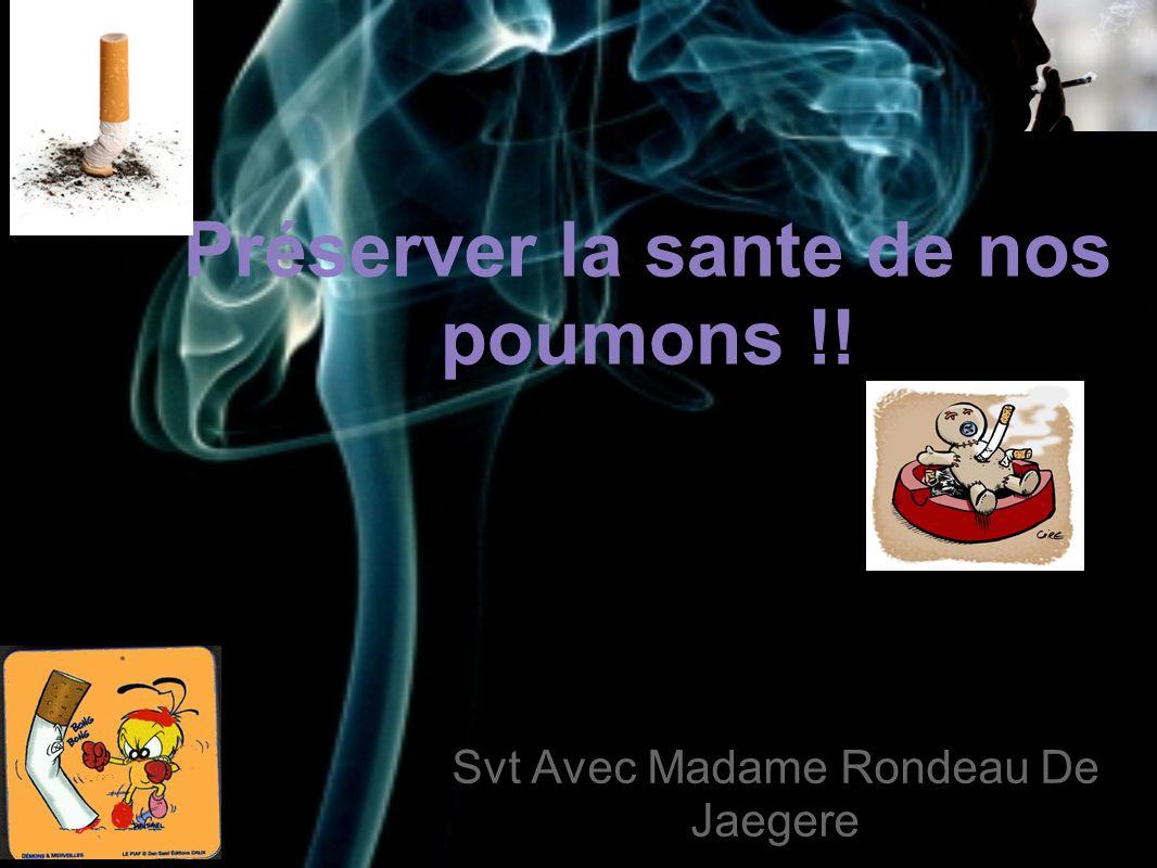 Préserver la sante de nos poumons !!