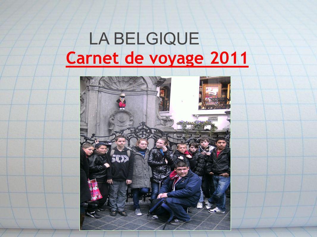 Carnet de voyage 2011 LA BELGIQUE