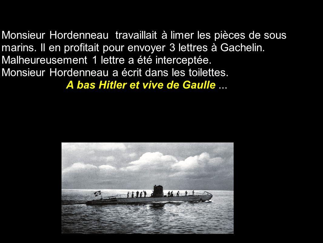 A bas Hitler et vive de Gaulle ...