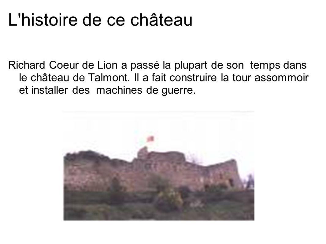 L histoire de ce château