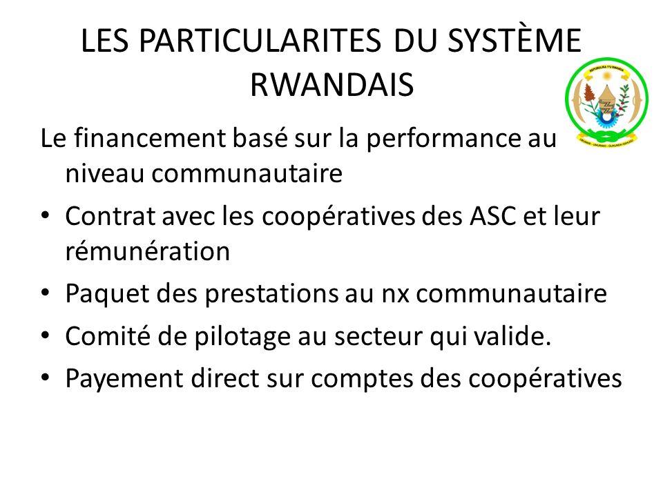 LES PARTICULARITES DU SYSTÈME RWANDAIS