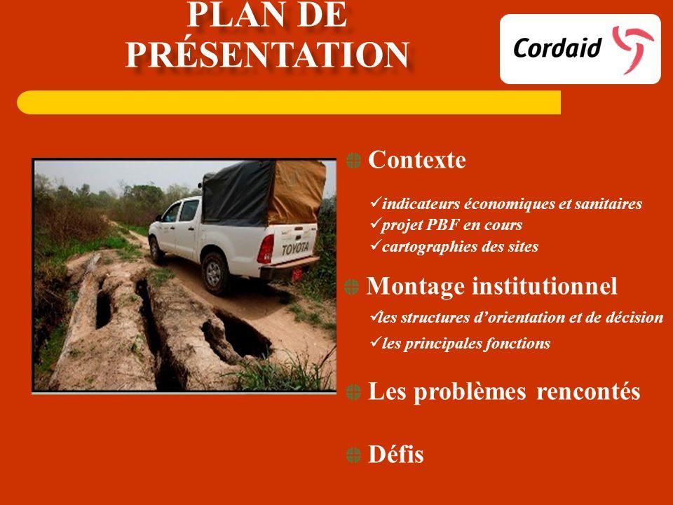 Plan de présentation Contexte Montage institutionnel