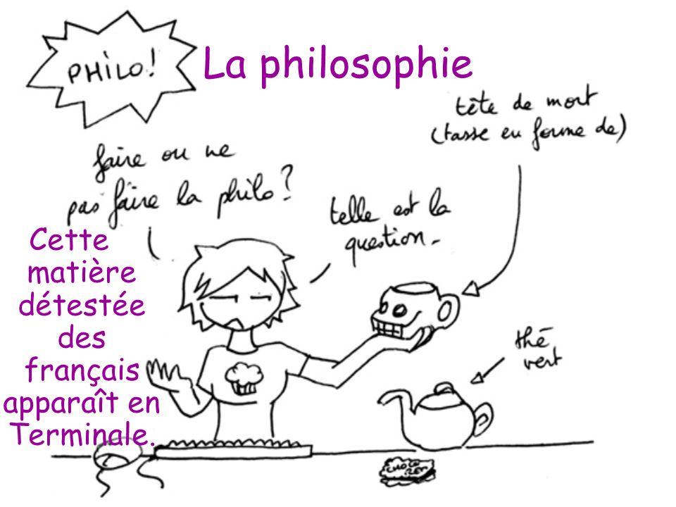 Cette matière détestée des français apparaît en Terminale.