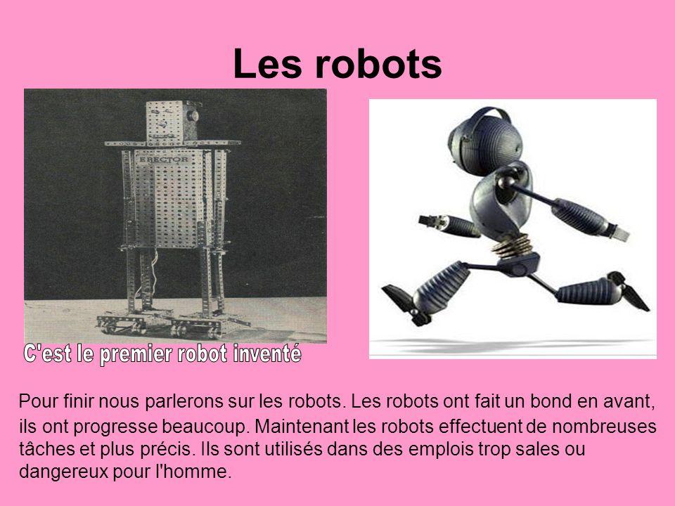 C est le premier robot inventé