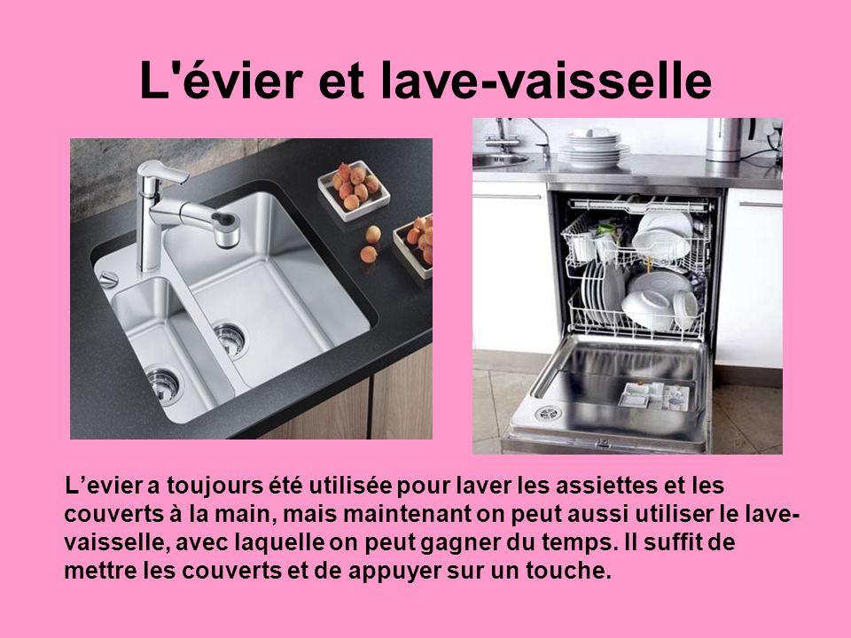 L évier et lave-vaisselle