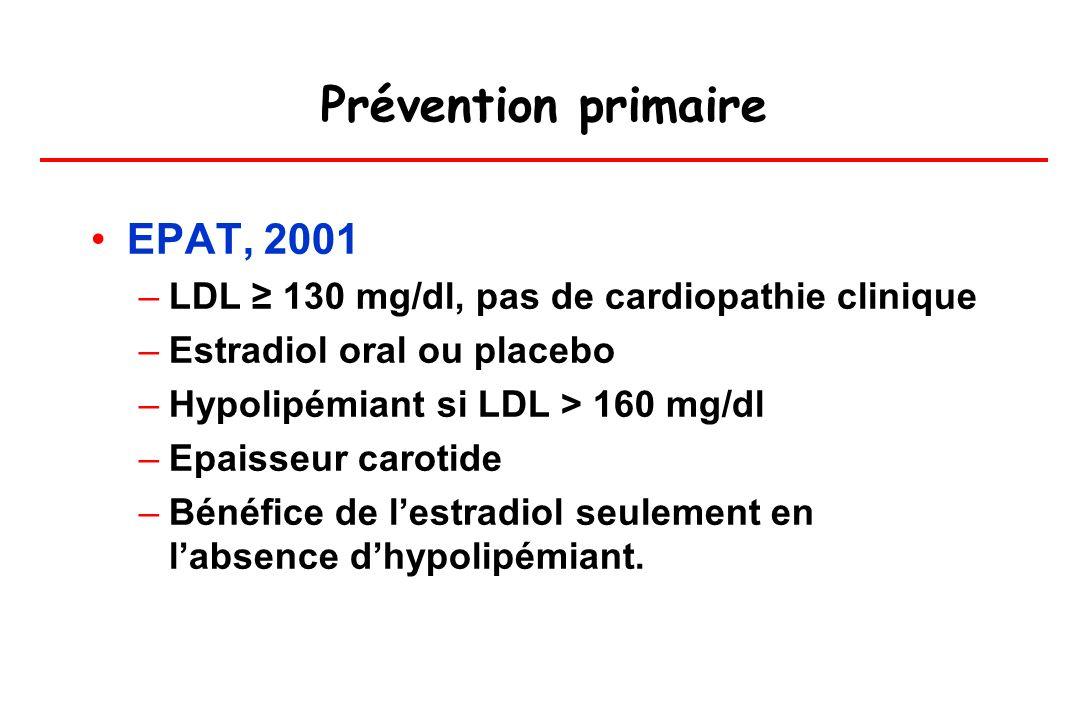 Prévention primaire EPAT, 2001
