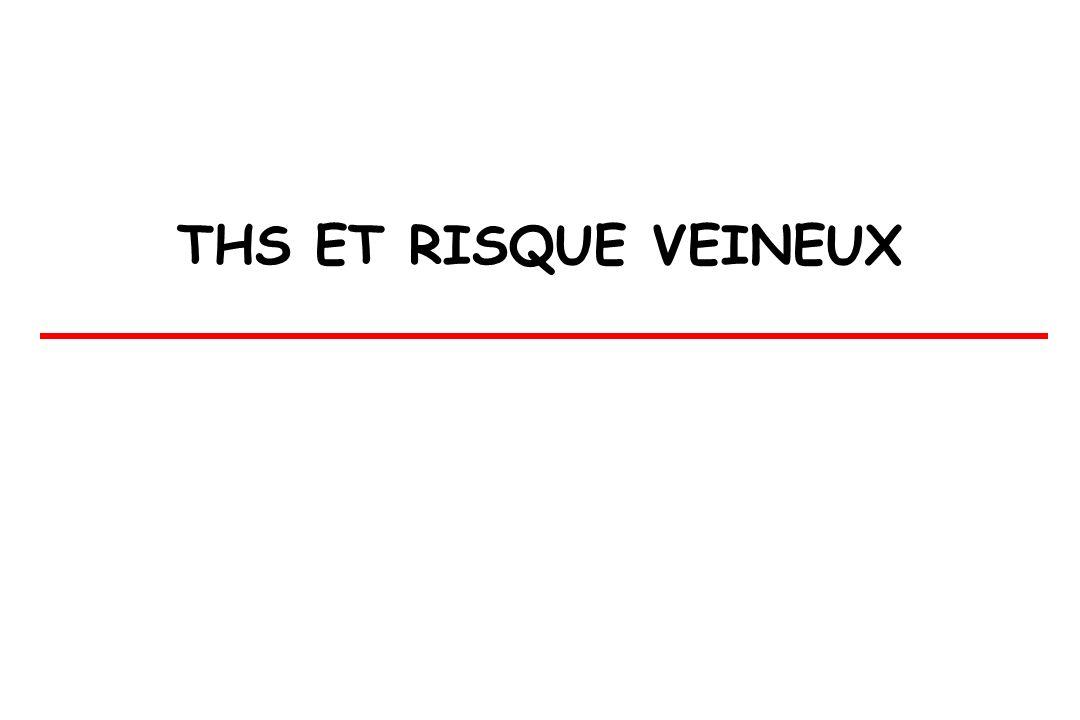 THS ET RISQUE VEINEUX
