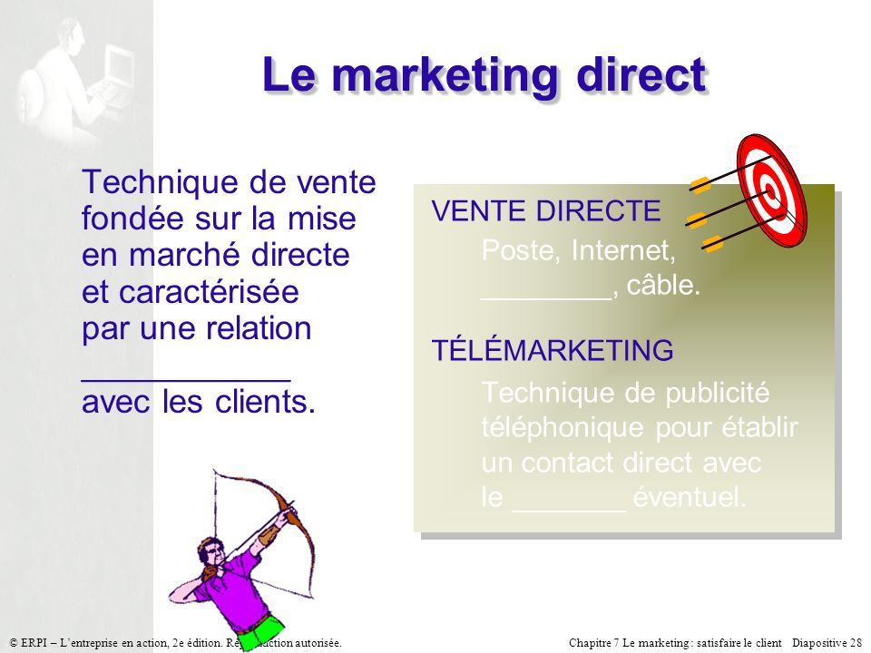 Le marketing direct