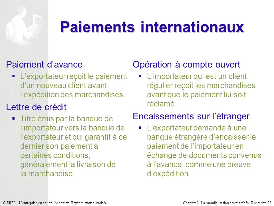 Paiements internationaux