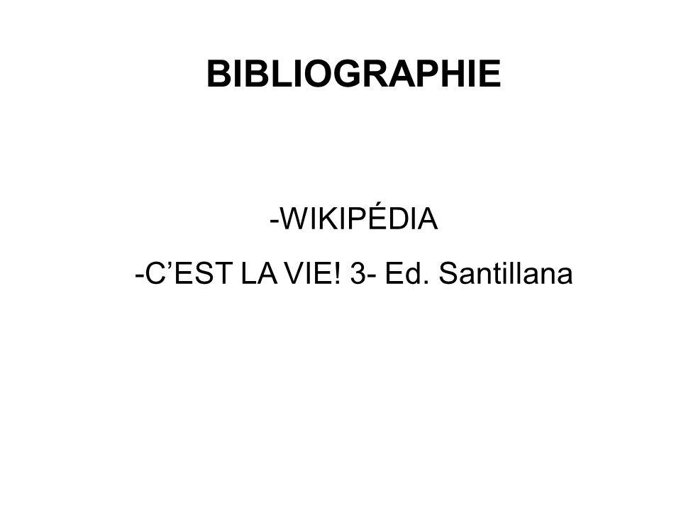 -C'EST LA VIE! 3- Ed. Santillana