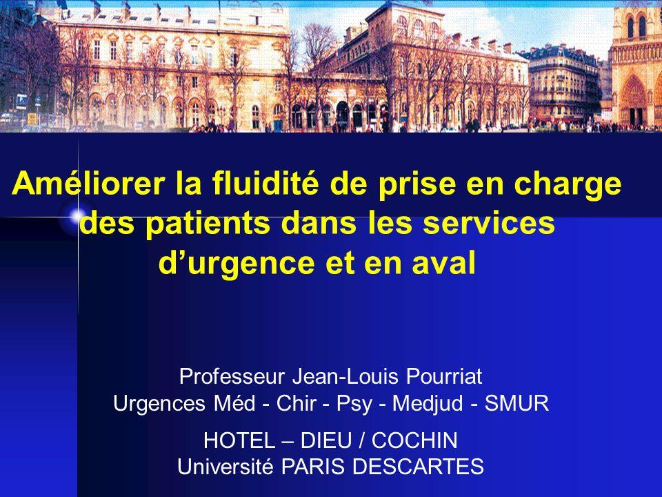 Améliorer la fluidité de prise en charge des patients dans les services d'urgence et en aval