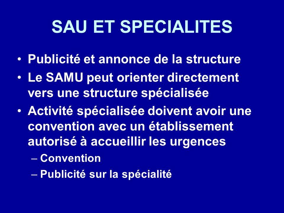 SAU ET SPECIALITES Publicité et annonce de la structure