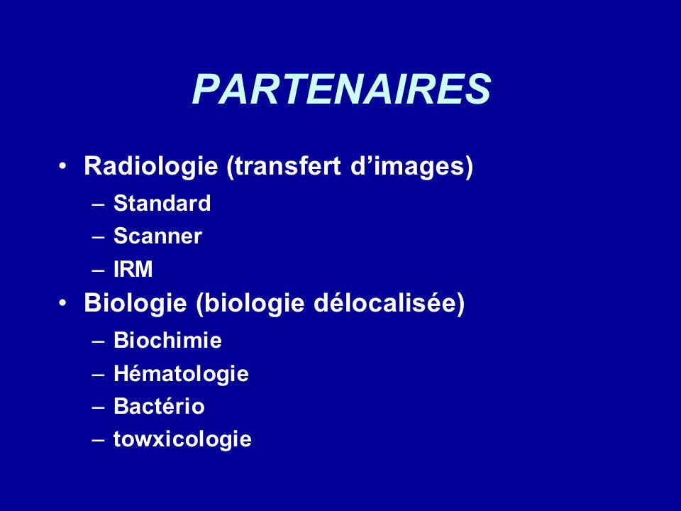 PARTENAIRES Radiologie (transfert d'images)