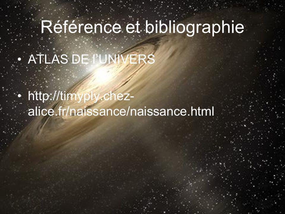 Référence et bibliographie